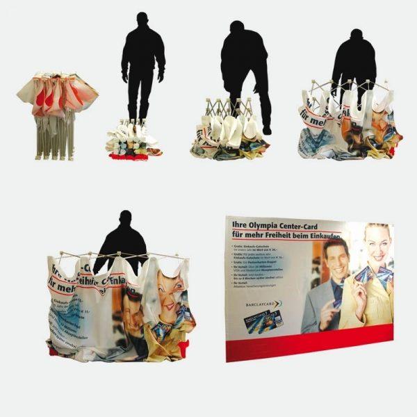 Faltdisplay Messewand 2x3 textil