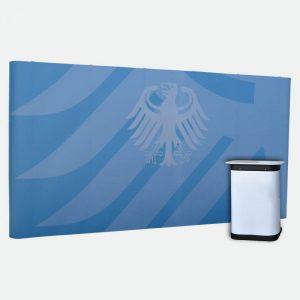 Faltdisplay Messewand 5x3 magnet