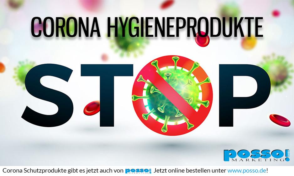 posso Hygieneprodukte zum Schutz vor Corona